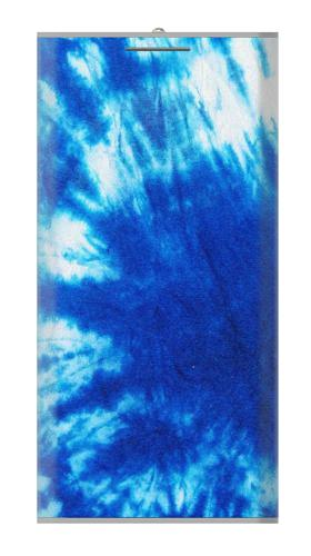 Tie Dye Blue Iphone6 Case