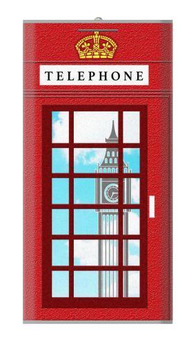 England Classic British Telephone Box Minimalist Iphone6 Case