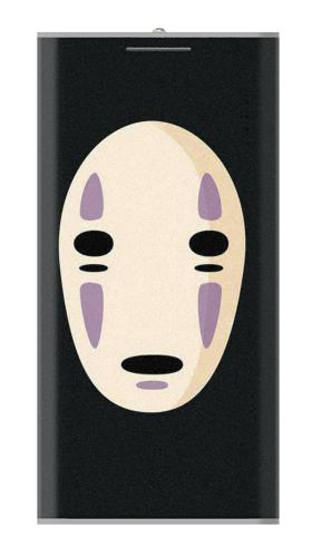Printed Spirited Away No Face Power Bank 12000mAh Case