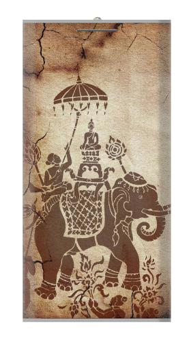 Thai Art Buddha on Elephant Iphone6 Case