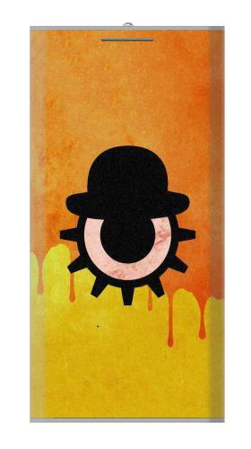 Clockwork Orange Blood Dripping Iphone6 Case