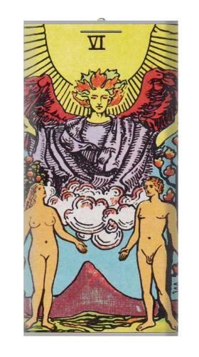Lovers Tarot Card Iphone6 Case