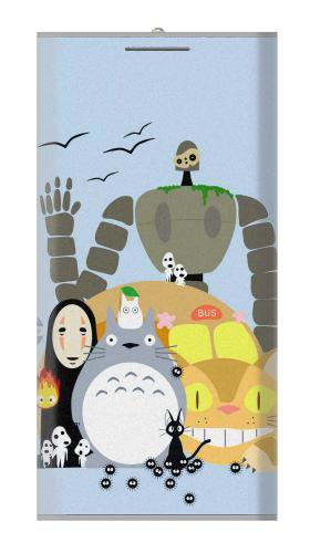 Totoro Cat Bus Laputa Noface and Friends Iphone6 Case