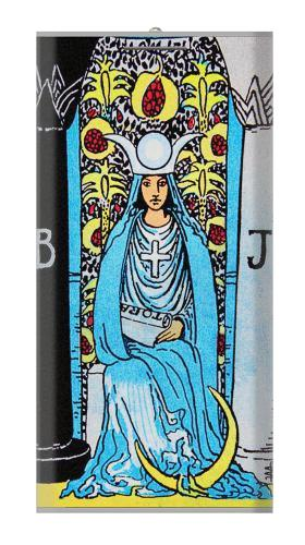 The High Priestess Vintage Tarot Card Iphone6 Case
