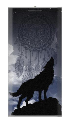 Dream Catcher Wolf Howling Iphone6 Case