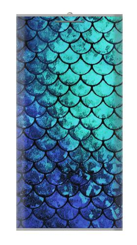 12000mAh Power Bank Green Mermaid Fish Scale