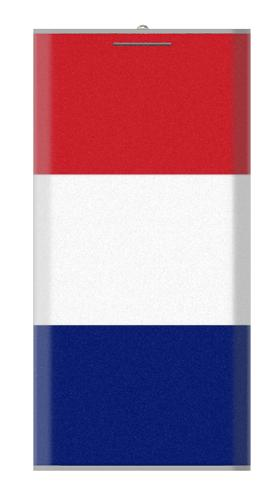 12000mAh Power Bank Flag of France and the Netherlands
