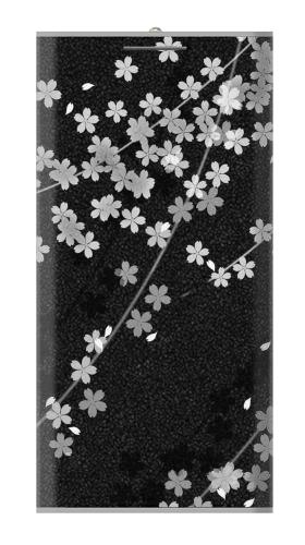 Japanese Style Black Flower Pattern Iphone6 Case