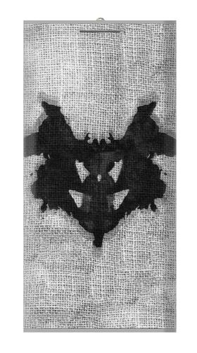 Rorschach Psychological Test Iphone6 Case