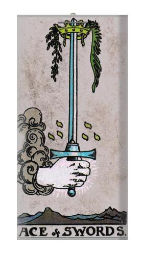 Tarot Ace of Swords Iphone6 Case
