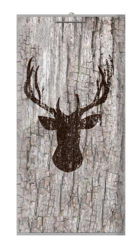 Deer Head Old Wood Texture Iphone6 Case