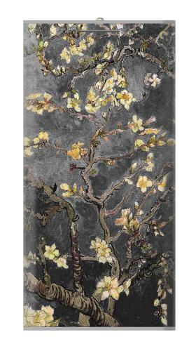 Black Blossoming Almond Tree Van Gogh Iphone6 Case