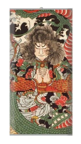 Japan Art Dragon and Tawara Toda Iphone6 Case