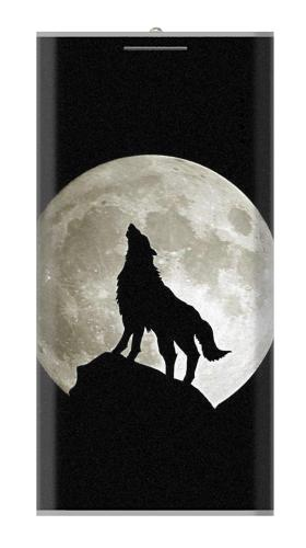 Wolf Howling at The Moon Iphone6 Case