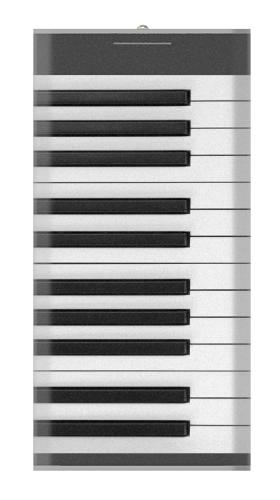 One Octave Piano Iphone6 Case