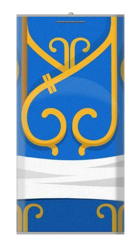 Chun Li Blue Dress Iphone6 Case