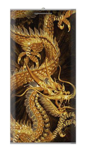 Chinese Gold Dragon Printed Iphone6 Case
