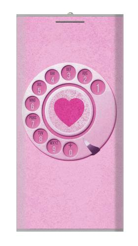 Pink Retro Rotary Phone Iphone6 Case