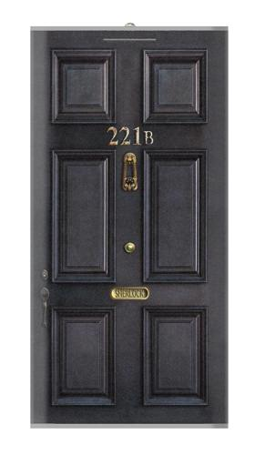 Sherlock Holmes Black Door 221B Iphone6 Case