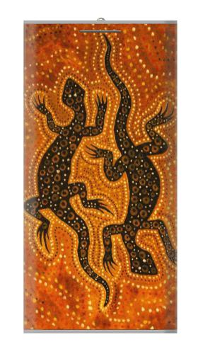Lizard Aboriginal Art Iphone6 Case