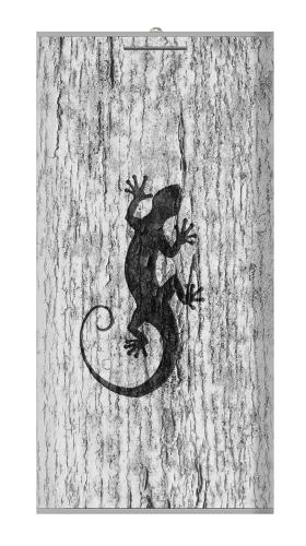 Gecko Wood Graphics Printed Iphone6 Case