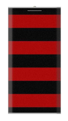 Black and Red Striped Iphone6 Case