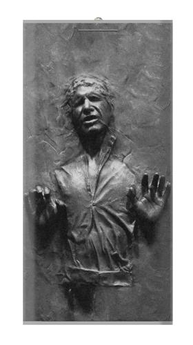 Han Solo Frozen in Carbonite Iphone6 Case