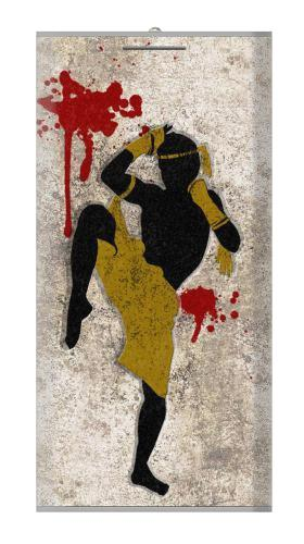 Muay Thai Fight Boxing Blood Splatter Iphone6 Case