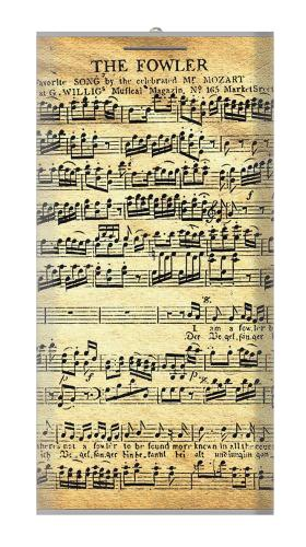 The Fowler Mozart Music Sheet Iphone6 Case