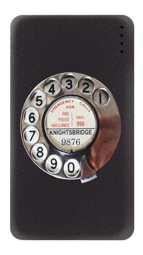 Retro Rotary Phone Dial On Iphone6 Case