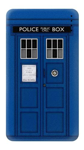 Printed Doctor Who Tardis Power Bank 4000mAh Case
