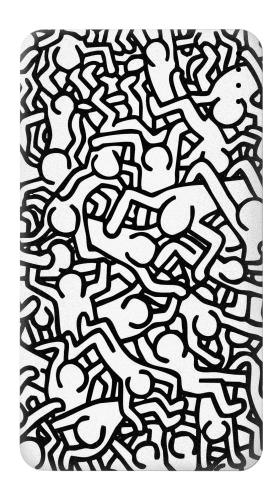 Printed Keith Haring Art Power Bank 4000mAh Case