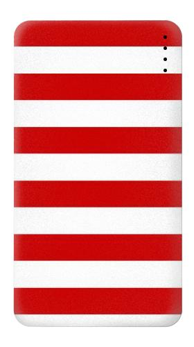 Red and White Striped Iphone6 Case