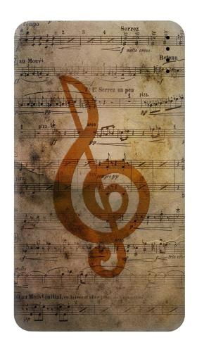 Sheet Music Notes Iphone6 Case