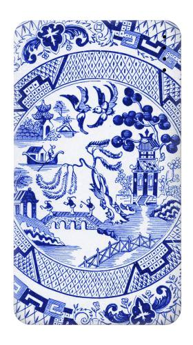 Willow Pattern Illustration Iphone6 Case