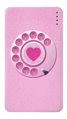 Pink Retro Rotary Phone Iphone6 Case