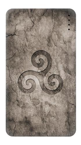 Triskele Symbol Stone Texture Iphone6 Case
