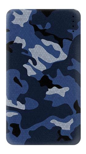 Navy Blue Camouflage Iphone6 Case