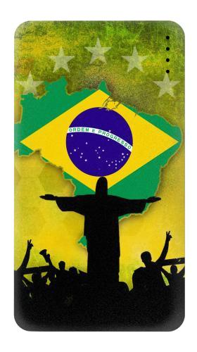 Brazil Football Flag Iphone6 Case