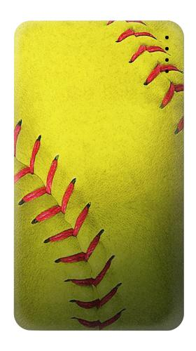 Yellow Softball Ball Iphone6 Case