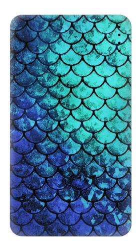 Printed Green Mermaid Fish Scale Power Bank 4000mAh Case