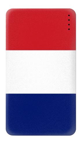Power Bank Flag of France and the Netherlands