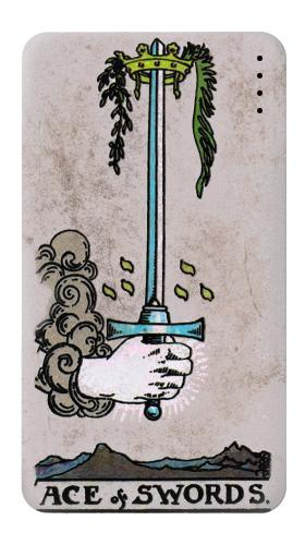 Tarot Ace of Swords Iphone6 Case