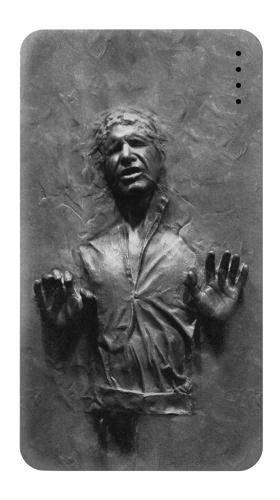 Printed Han Solo Frozen in Carbonite Power Bank 4000mAh Case