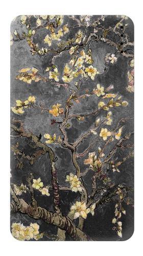 Black Blossoming Almond Tree Van Gogh Iphone6 Case