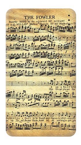The Fowler Mozart Music Sheet Iphone6 Case