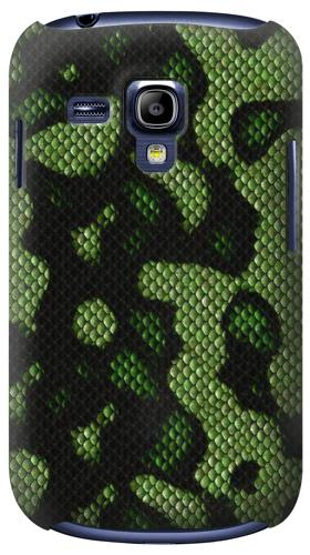 Printed Green Snake Skin Graphic Printed Samsung Galaxy S3 mini Case