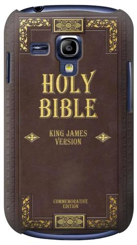 Printed Holy Bible Cover King James Version Samsung Galaxy S3 mini Case