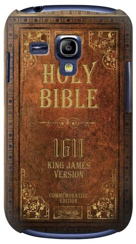 Printed Holy Bible 1611 King James Version Samsung Galaxy S3 mini Case