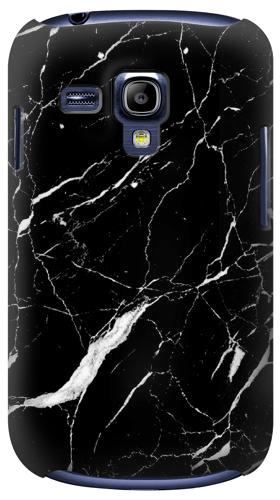 Printed Black Marble Graphic Printed Samsung Galaxy S3 mini Case